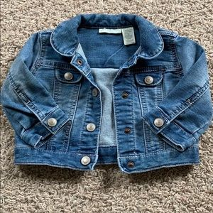 First Impressions Jean Jacket Size 3-6 Months